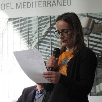 39. Corso di Scrittura CreAttiva - ScriviAmo 2015, Serata alla MEM di Cagliari 11 aprile 2015, Rita Oldani legge, foto by Duranti© - All rights reserved