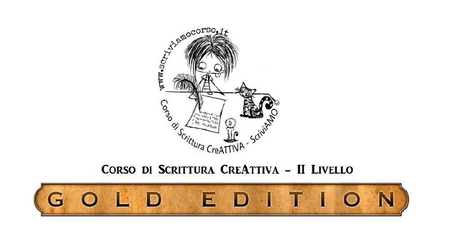 Corso di Scrittura CreAttiva II LIVELLO - Gold Edition, logo