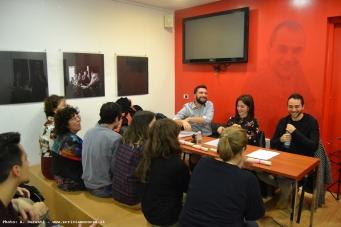 """""""Le Occasioni"""", il folto pubblico e gli autori in prima fila"""
