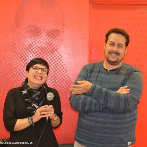 """""""Le Occasioni"""", i docenti e organizzatori Giulia Marini e Matteo Tuveri"""